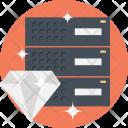 Premium Hosting Service Icon