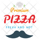 Premium Pizza Icon