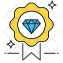 Premium Quality Royalty Diamond Icon