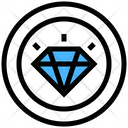 Premium Quality Diamond Premium Icon