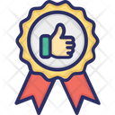 Premium Quality Award Success Icon