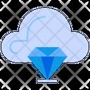 Premium Quality Cloud Server Cloud Icon