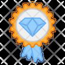Premium Quality Badge Best Badge Diamond Badge Icon