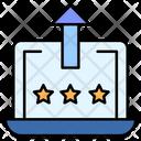 Premium Rating Increase Rating Premium Icon