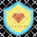 Diamond Security Icon