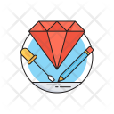Premium Service Diamond Icon