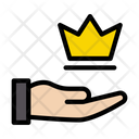 Crown Reward Premium Icon