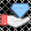 Premium Service Diamond Service Quality Premium Icon