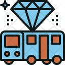Premium Bus Transportation Icon