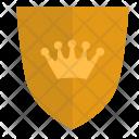 Premium Shield King Icon
