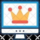 Premium Crown Favorite Icon