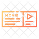 Premium Ticket Movie Ticket Cinema Ticket Icon