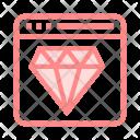 Premium Webpage Icon