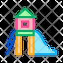 Preschool Playground Game Icon