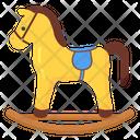 Preschool Toy Kids Toy Horse Toy Icon