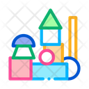 Preschool Education Toys Icon