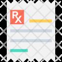 Prescription Medicine Chart Icon