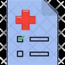 Prescription Medical Medicine Icon