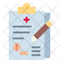 Prescription Medical History Icon