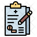 Medical Report History Icon