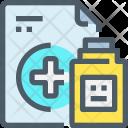 Medicine Prescription Bottle Icon