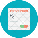 Prescription File Report Icon