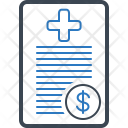Insurance Bill Claim Icon