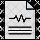 Prescription Clipboard Medical Report Icon
