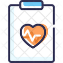 Prescription Heart Report Ecg Report Icon