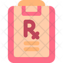 Prescription Pharmacy Medical Icon