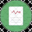 Prescription Medical Receipt Medicine Report Icon
