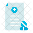 Prescription Medical Health Icon