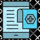 Prescription Mobile Smartphone Icon