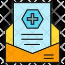 Prescription Document Medical Icon