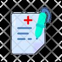 Prescription Medicine Healthcare Icon