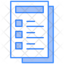 Prescription Medical Report Icon