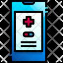 Prescription Note Medicine Icon