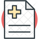 Prescription Clipboard Medical Icon