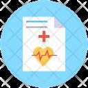 Prescription Ecg Report Icon
