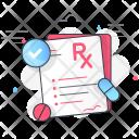 Prescription Suggestions Advice Icon