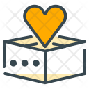 Empty Love Present Icon
