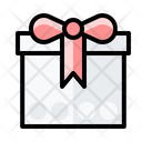 Present Birthday And Party Gift Box Icon