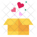 Box Heart Present Icon