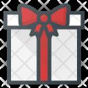 Present Gift Box Icon