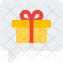 Present Chat Gift Icon