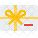 Gift Card Present Icon