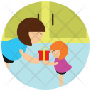 Present Giving Gift Icon