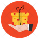 Gift Offer Surprise Wrapped Gift Icon