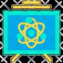 Atomic Presentation Atomic Research Presentstion Research Presentation Icon