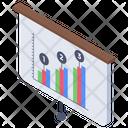Business Graph Graphic Presentation Graph Up Icon